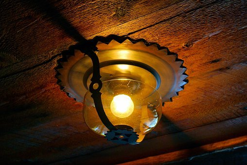 Old Faithful Inn Light, Electric, Light, Electricity