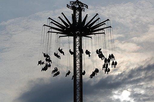 Fair, Carousel, Chain Carousel, Folk Festival