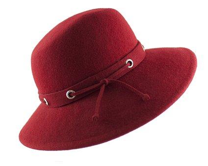 Hat Womens, Hat Filcowy, Felt, Fashion, Ornament, Woman