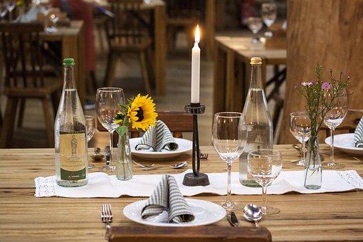 Festival, Table, Covered, Celebration, Board, Festive