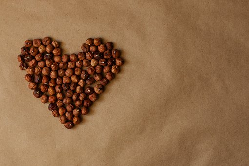 Filbert, Heart, Chips, Food, Fitness, Health, Diet