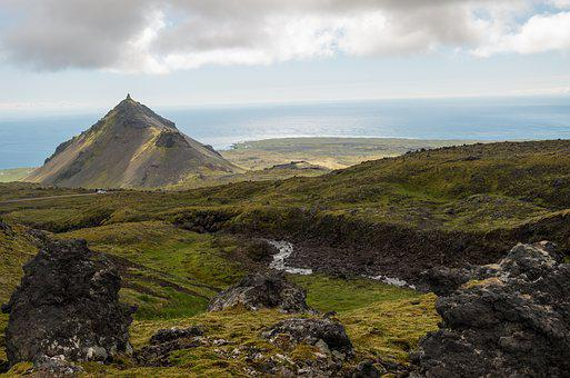 Iceland, Hiking, Landscape, Mountain, Travel