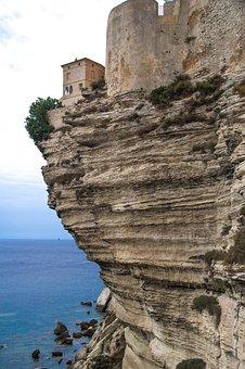 Corsican, Bonifacio, Cliffs, Erosion, Limestone