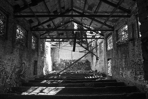 Lost Place, Pforphoto, Abandoned, Barracks, Building