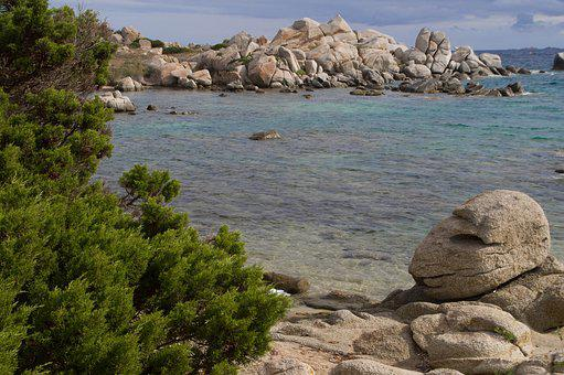 Corsican, Mediterranean, Holiday, Side, Rocks