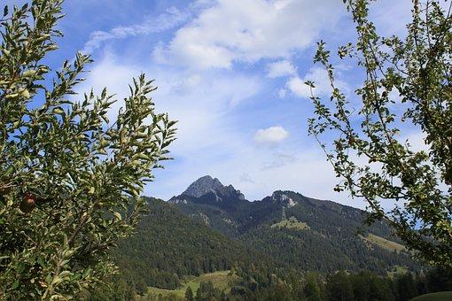 Mountain, Alpine, Wendelstein, Landscape, Nature
