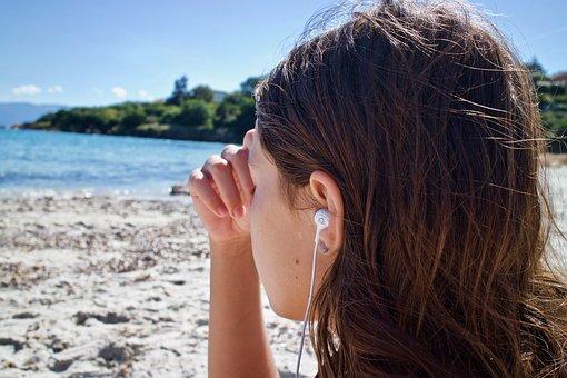 Meditation, Listening, Music, Consciousness, Earphones