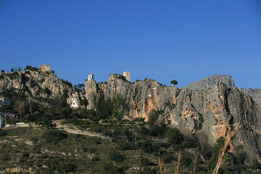 Guadalest, Spain, Landscape, Nature, Mountains, Scenic