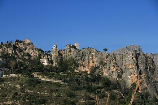 Guadalest, Spain, Landscape, Nature, Mountains, Scenic
