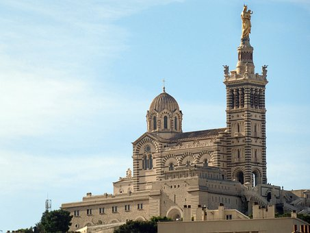 Marseille, Notre-dame, Our-lady -of-the-guard, Guard