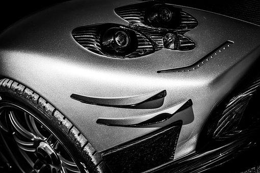 Headlight, Pagani, Pagani Zonda, Car, Motor, Fast