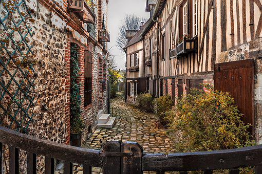 Honfleur, France, City, Perspective, History