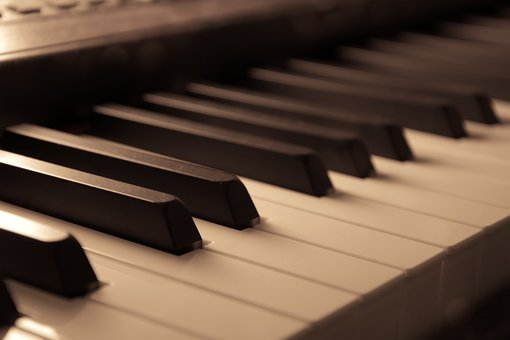 Piano, Oldschool, Vintage, Music, Melody, Instrument