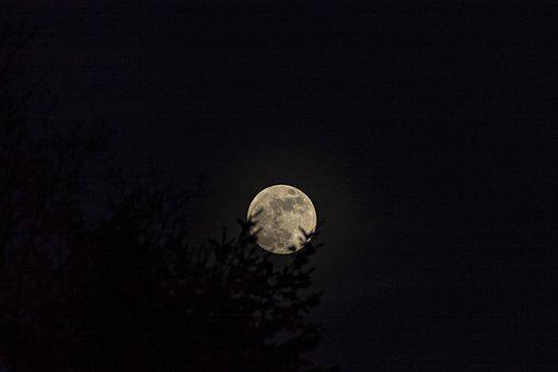 Moon, Sky, Night, Astronomy, Science