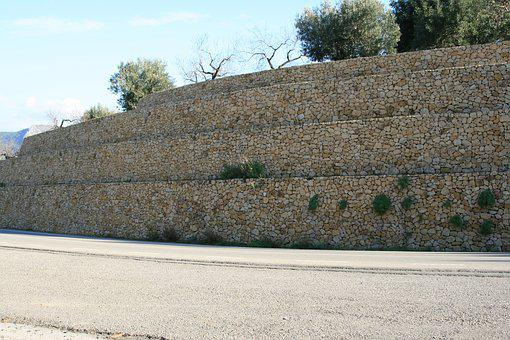 Stone Wall, Wall, Masonry, Stones, Architecture, Facade
