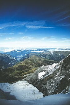 Jungfraujoch, Switzerland, Snow, Alpine, Eiger, Summit