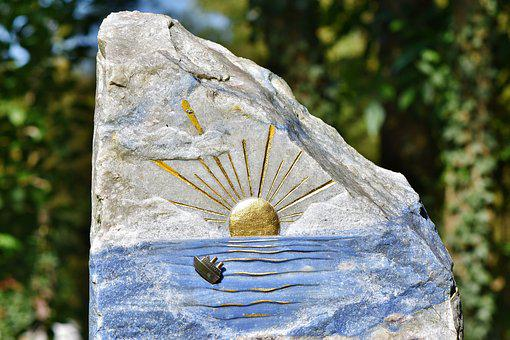 Tombstone, Grave, Tomb, Memorial, Rock Carving, Stone