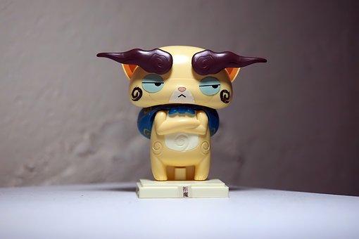 Komajirou, Yo-kai, Toy, Figurine, Japanese, Cartoon