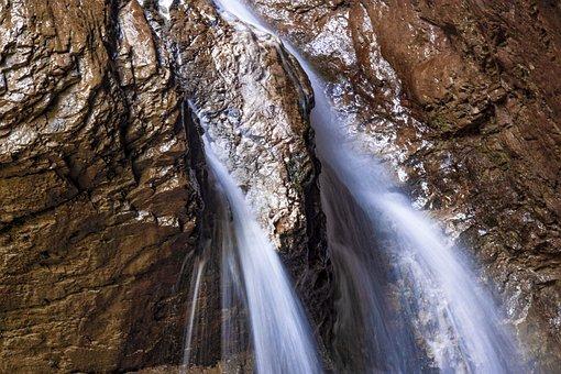 Waterfall, Water, Nature, Creek, Falls, Bach, Waters