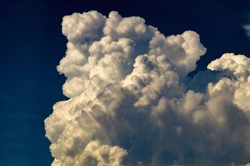 Clouds, White, Cumulus, Nature, Cloudscape, Weather