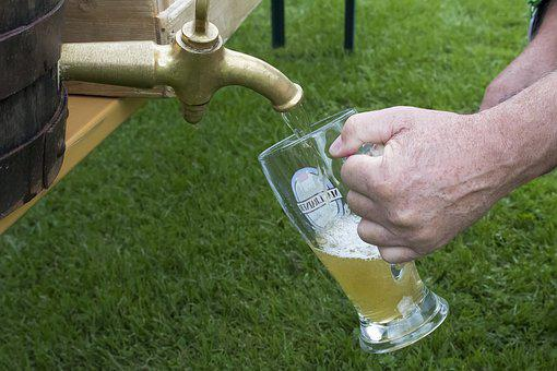 Beer Keg, Wheat Beer, Beer Glass, Wheat Beer Glass, Tap