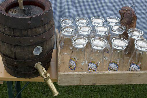 Beer Keg, Wheat Beer, Beer Glasses, Wheat Glasses