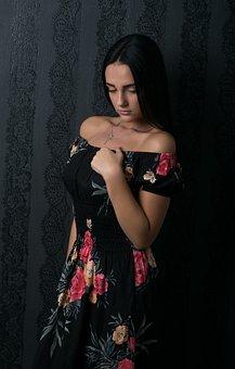 Woman, Exotic, Portrait, Beauty, Pretty, Model, Dress