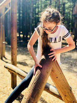 Girl, Climb, Outdoors, Child, Adventure, Climbing, Tree