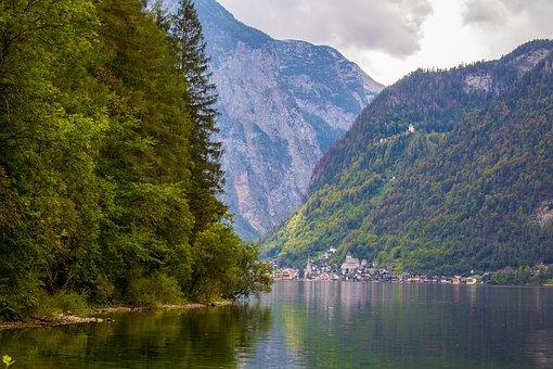 Hallstatt, Hallstätter Lake, Austria, Alpine, Bergsee