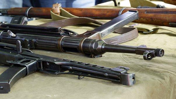 Automatic Machine Gun, Schmeiser, Soviet, German, War