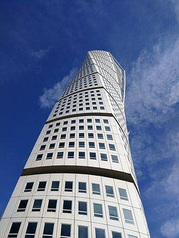 High-rise Building, Majestic, High, Outdoor, Sky, Blue