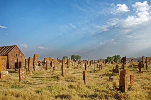 Armenia, The Cemetery Of Noratus, Cemetery