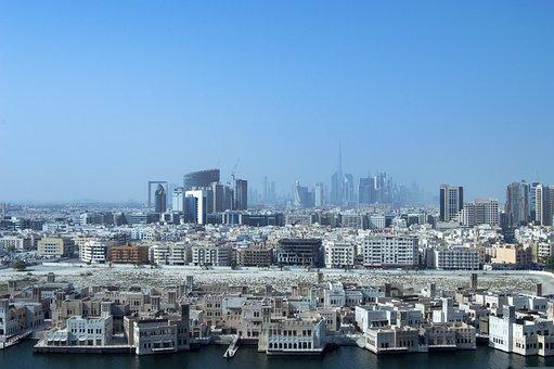 Old City Of Dubai, Dubai, Arabian, Center, Shop, Travel
