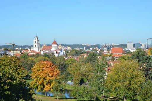 Old Town, City, Sunny, Landscape, Old, Baroque