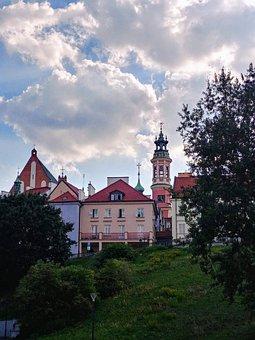 Warsaw, Poland, Mazowsze, Old, City, Panorama, Tourism