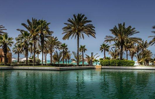 Dubai, Beach, Sea, Blue, The Coast, Coastal, Recreation