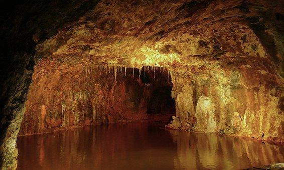 Fairies ' Cave, Saalfeld, Cave, Mining, Minerals, Color