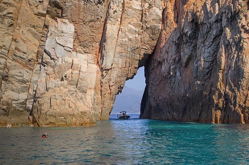 Corsican, Piana, Cove, Cliff, Geology, Ark