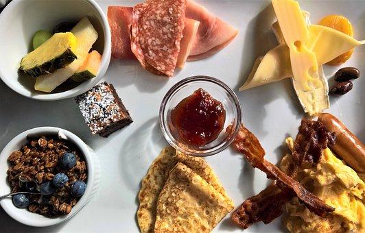 Breakfast, Danish Breakfast Plate, Eat, Substantial
