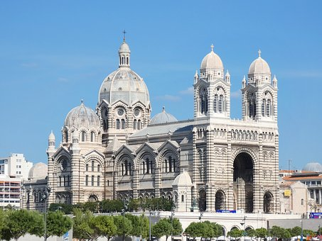 Marseille, Cathedral, Major, Dome, Architecture