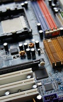 Motherboard, Computer, Technology, Electronics, Digital