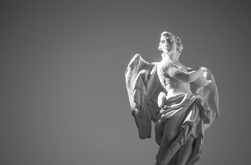 Angel, Statue, Sculpture, Figure, Hope, Faith, Ala
