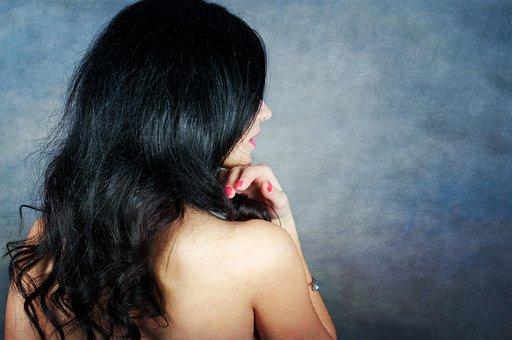 Spin, Model, Hair, Girl, Style, Posture