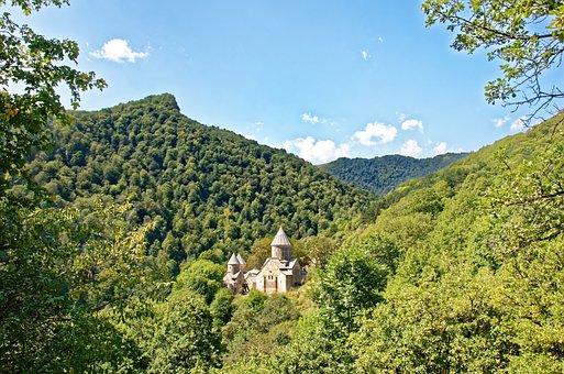 Armenia, Landscape, The Monastery Of Haghartsin
