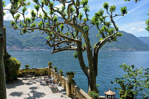Lake, Como, Italy, Landscape, Water, Holiday, Mountains