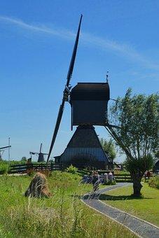 Mill, Kinderdijk, Unesco World Heritage Site