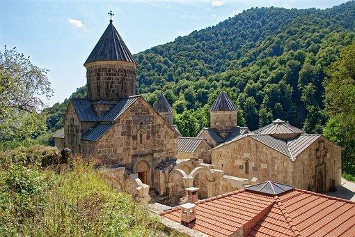 Armenia, The Monastery Of Haghartsin, Monastery, Church