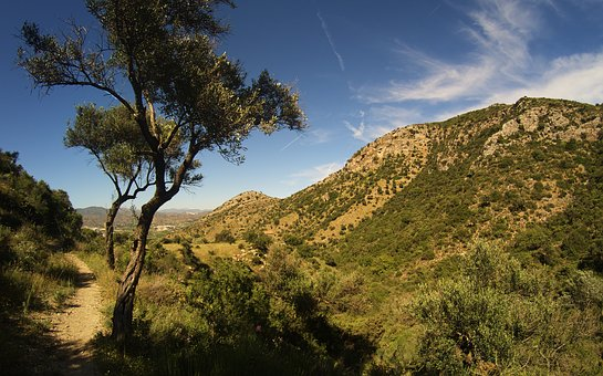 South, Arid Landscape, South Of Spain, Mountains