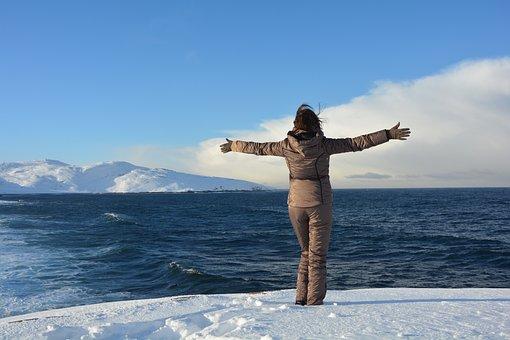 Ocean, Sea, Nature, Blue, Beach, Wave, Sky, Travel