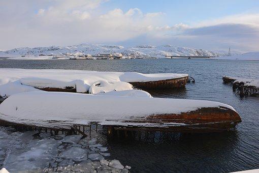 Barencevo Sea, Teriberka, Russia, Nature, Calm, North